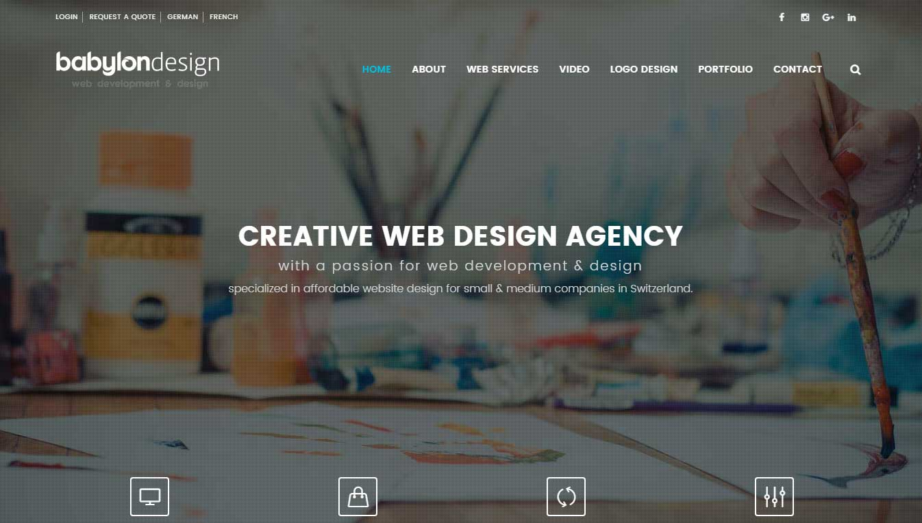 home web design. Web Design Agency Switzerland  Affordable Webdesign In Schweiz Zurich Geneva Lausanne Basel